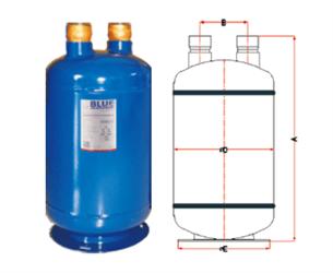 Отделитель жидкости BLR/SLA-213 (1 3/8) 9,6 литра - фото 9409