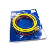 Заправочные шланги VALUE VRP-U-RYB  (1,2 m) (R-410)