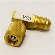 Адаптер угловой VALUE  V 03 (R 410A x R 22)