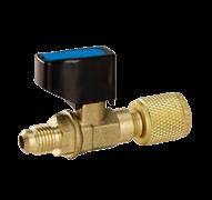 Вентиль шаровой с адаптером VALUE CV 01 прямой (R22xR410A)