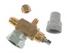 """Запорный вентиль типа Rotalock CASTEL 6320/3  3/8""""Flarex1""""UNS"""