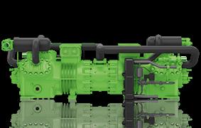 Компрессор поршневой 2х ступенч. Bitzer S66J-32.2Y