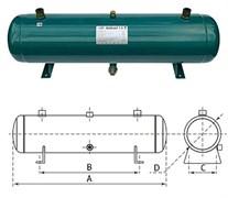 Ресивер горизонтальный 50L Testcool