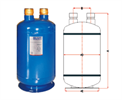 Отделитель жидкости BLR/SLA-204 (1/2) 1,5 литра - фото 9405